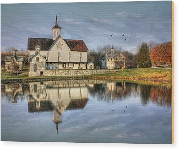 Afternoon At The Star Barn Wood Print