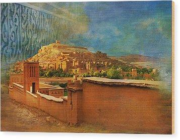 Ait Benhaddou  Wood Print by Catf