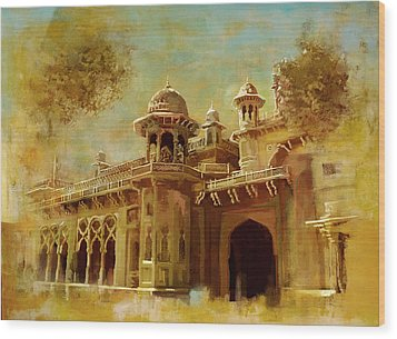 Aitchison College Wood Print by Catf
