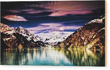Wood Print featuring the photograph Alaska by Bill Howard
