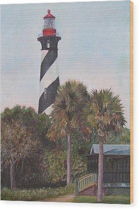 Anastasia Lighthouse Wood Print