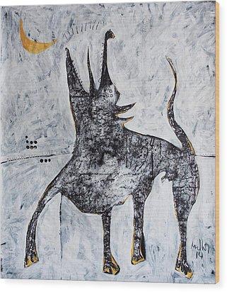 Animalia Canis No. 7  Wood Print