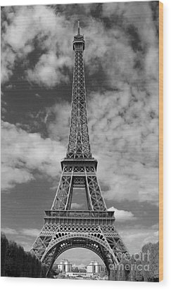 Architectural Standout Bw Wood Print