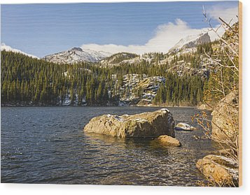 Bear Lake - Rocky Mountain National Park Colorado Wood Print by Brian Harig