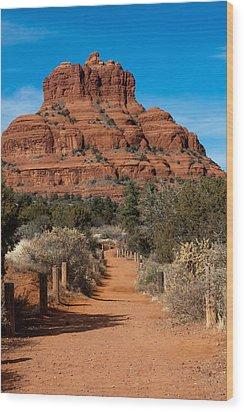 Bell Rock Wood Print by Randy Bayne