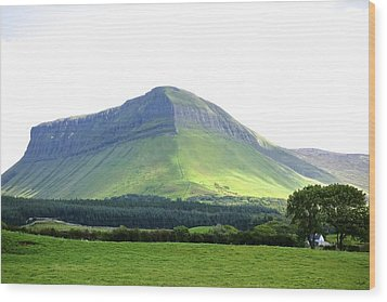 Ben Bulben Wood Print