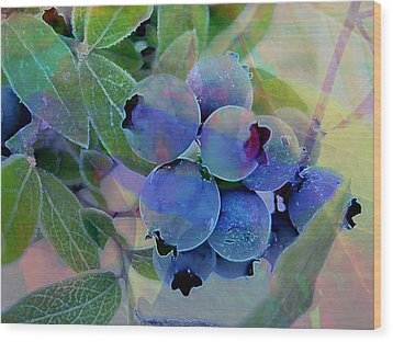 Berry Beautiful Wood Print