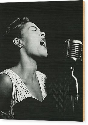Billie Holiday Wood Print by Retro Images Archive