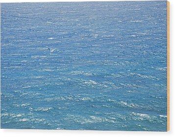 Wood Print featuring the photograph Blue Waters by George Katechis