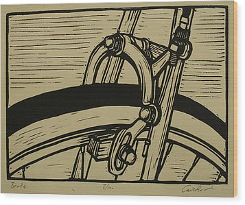 Brake Wood Print by William Cauthern