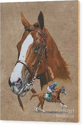 California Chrome Wood Print