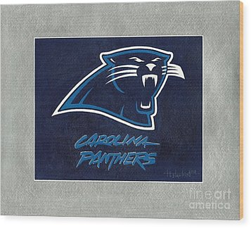 Panthers  Wood Print by Herb Strobino