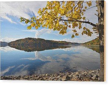 Cheat Lake - West Virginia Wood Print