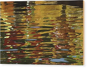 Wood Print featuring the photograph Chihuly Reflections IIi by John Babis