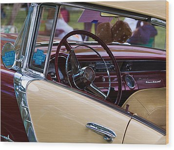 Classic American Car Wood Print