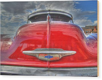 Classic Chevy Wood Print by Tam Ryan