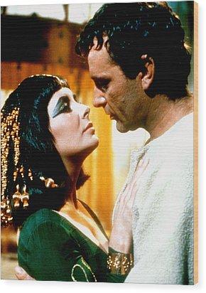 Cleopatra  Wood Print