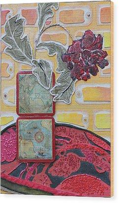 Coasters Wood Print by Diane Fine