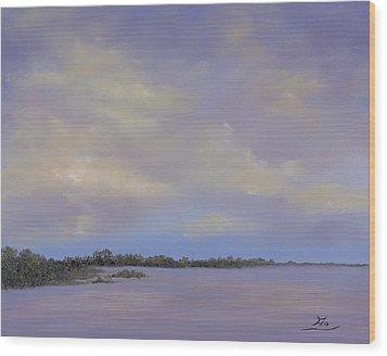 Connemara Lake Wood Print
