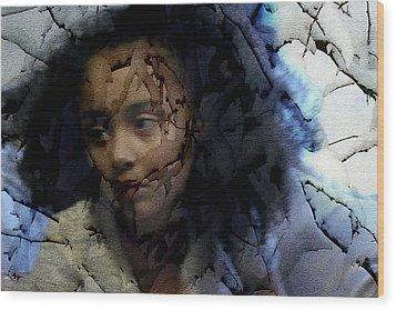 Dead Of Winter Wood Print by Jodie Marie Anne Richardson Traugott          aka jm-ART