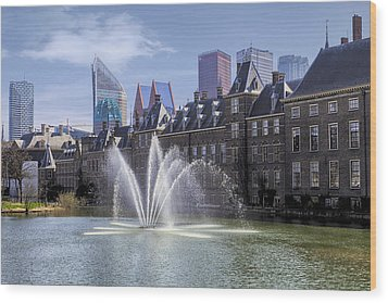 Den Haag Wood Print by Joana Kruse