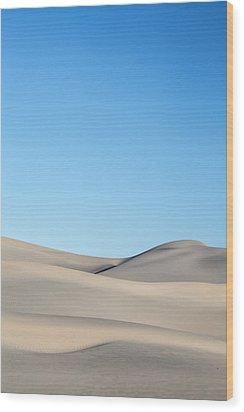 Desert Calm Wood Print by Jon Glaser