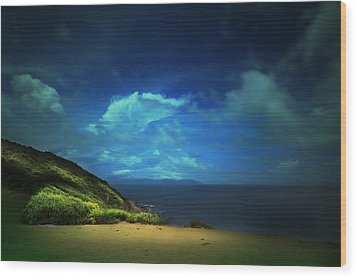 Wood Print featuring the photograph Dream's Island by Afrison Ma