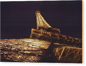 Eiffel Tower Paris France Wood Print by Patricia Awapara