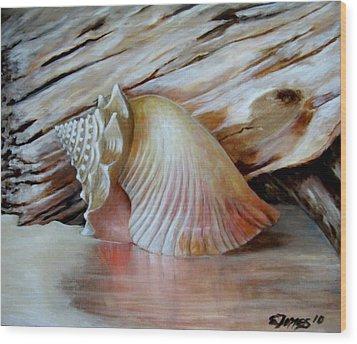 Entre Mares Y Arenas Wood Print by Edgar Torres