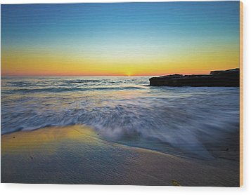 Wood Print featuring the photograph Expanse 3 by Ryan Weddle