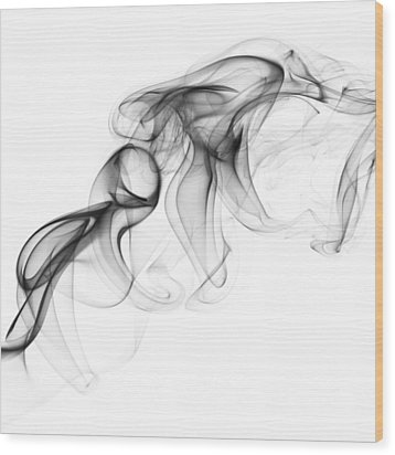 Fluidity No. 1 Wood Print