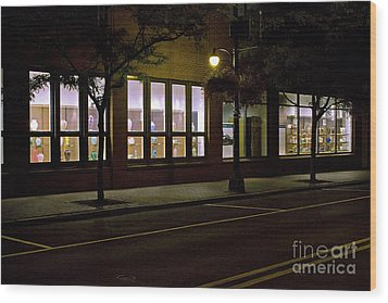 Frederick Carter Storefront 2 Wood Print by Tom Doud