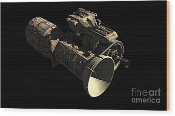 Frenchbulgarian Orbital Weapons Wood Print by Rhys Taylor