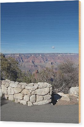 Wood Print featuring the photograph Grand Canyon by David S Reynolds