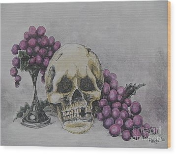 Harold And The Vine Wood Print