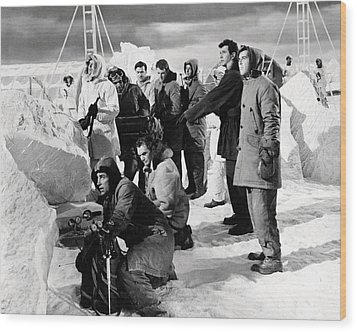 Ice Station Zebra  Wood Print by Silver Screen