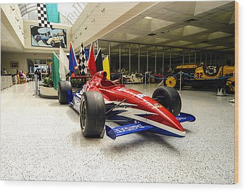 Indianapolis 500 Wood Print by Chris Smith