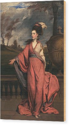 Jane Fleming, Later Countess Wood Print by Sir Joshua Reynolds