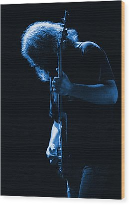 Jerry Blue Sillow Wood Print