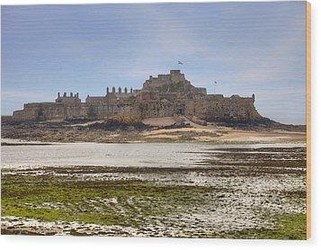 Jersey - Elizabeth Castle Wood Print by Joana Kruse