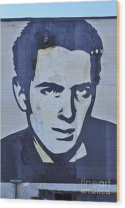 Joe Strummer Wood Print