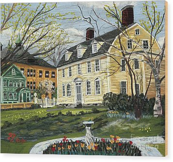 John Paul Jones House Wood Print
