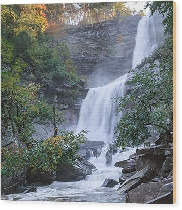 Kaaterskill Falls Square Wood Print