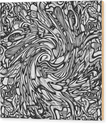 #2 Keiko Series  Wood Print by George Curington