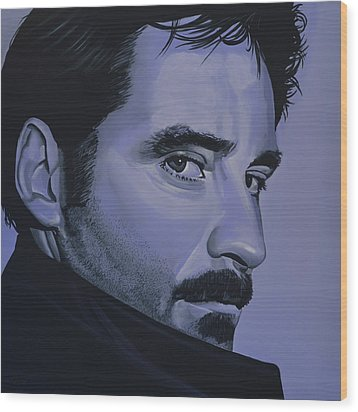 Kevin Kline Wood Print by Paul Meijering