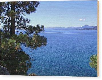Lake Tahoe 2 Wood Print by J D Owen