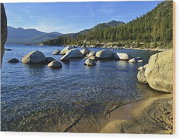 Lake Tahoe Beauty Wood Print
