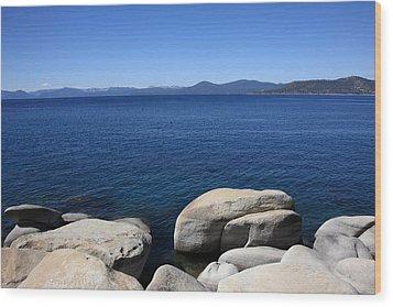 Lake Tahoe Wood Print by Frank Romeo