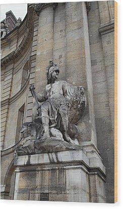 Les Invalides - Paris France - 01137 Wood Print by DC Photographer
