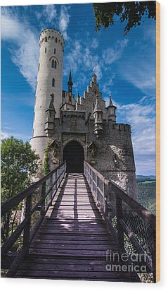 Lichtenstein Castle - Baden-wurttemberg - Germany Wood Print by Gary Whitton